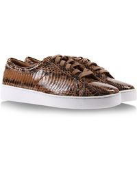 Michael Kors Low-Tops animal - Lyst