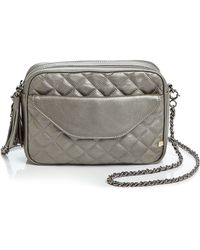 SJP by Sarah Jessica Parker - King Metallic Quilted Crossbody - Lyst