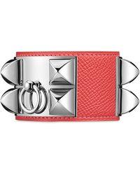 Hermès Collier De Chien pink - Lyst