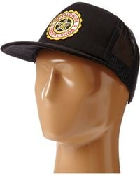 Obey Burnside Trucker Hat - Lyst