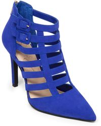 Jessica Simpson Blue Carmody Pumps - Lyst