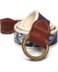 Polo Ralph Lauren Bandanna Belt - Lyst
