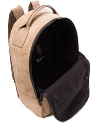 Yeezy - Leather Backpack - Lyst