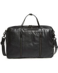 Hook + Albert - Convertible 3-way Leather Carryall Bag - Lyst