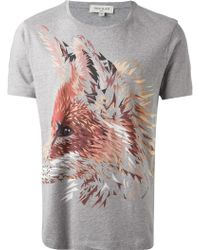 Paul & Joe Fox Print Tshirt - Lyst