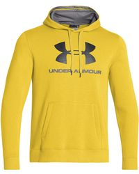 Under Armour Rival Sporty Hoodie - Lyst