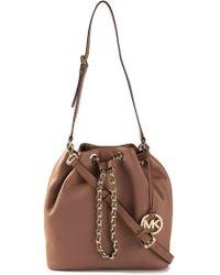 The Sak The Sak Sonora Flap Shoulder Bag In Brown Taupe