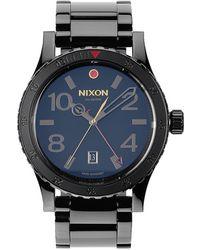 Nixon Diplomat Stainless Steel Watch - Lyst