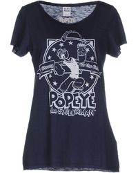 Vero Moda T-Shirt blue - Lyst