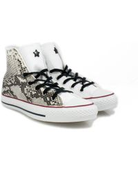 Converse Sneakers Pitonate All Star - Lyst