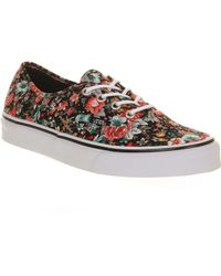 Vans Floral Authentic - Lyst