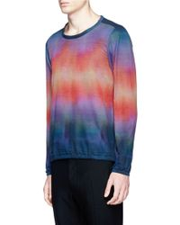 Paul Smith Rainbow Gradient Print Smock multicolor - Lyst