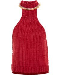 Wool And The Gang | Sleeveless Neck Chain Knit | Lyst