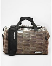 Sprayground - Money Stacks Duffle Bag - Lyst