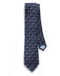 Tommy Hilfiger Regular Fit Nantucket Shark Stripe Tie - Lyst