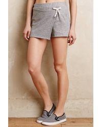 Stateside Heathered Drawstring Shorts - Lyst