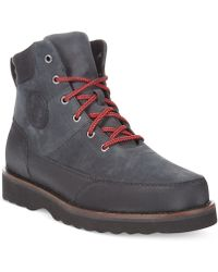 Polo Ralph Lauren Black Bearsted Boots - Lyst