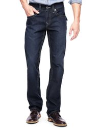 True Religion Hand Picked Basic Straight Back Flap Pocket Mens Jean - Lyst