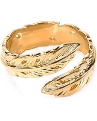 Melinda Maria - Nina Feather Ring - Lyst