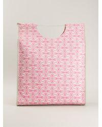 Charlotte Olympia Printed Shopper - Lyst