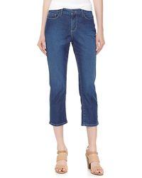 Christopher Blue - Melissa Cropped Denim Jeans - Lyst