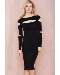 Nasty Gal Slasher Dress - Lyst