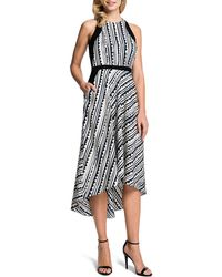 Cynthia Steffe Raelyn Sleeveless Printed Highlow Dress - Lyst