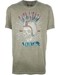 Rude Riders - Logo Tshirt - Lyst