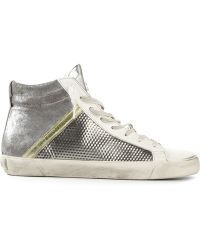 Leather Crown Louvre Trainers - Lyst