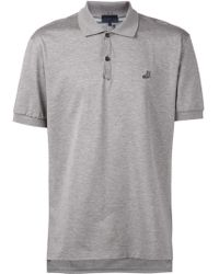 Lanvin Classic Polo Shirt gray - Lyst