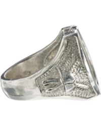 Love Bullets - Skool Ov Jenius Horse Shoe Ring in Sterling Silver - Lyst