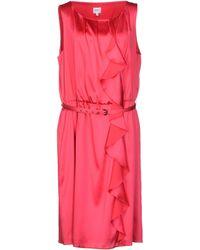Armani Knee-Length Dress - Lyst