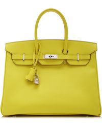 Heritage Auctions Special Collection 35cm Hermes Souffre Epsom Leather Birkin - Lyst