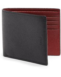 Bally Bollen Leather Wallet - Lyst
