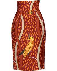 Stella Jean 34 Length Skirt - Lyst