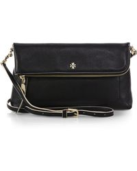 Tory Burch Emerson Fold-Over Crossbody Bag - Lyst