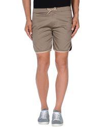 26.7 Twentysixseven - Bermuda Shorts - Lyst