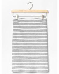 Gap Stripe Knit Pencil Skirt - Lyst