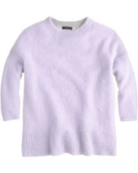 J.Crew Textured Slouchy Sweater - Lyst