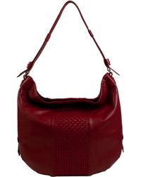 Cole Haan Brennan Leather Hobo Bag - Lyst