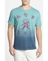 Robert Graham 'Devilbot' Graphic Ombre T-Shirt - Lyst