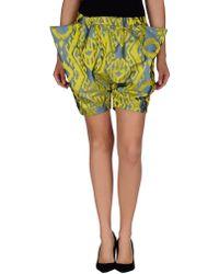 Vivienne Westwood Anglomania Bermuda Shorts - Lyst