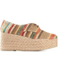 Jeffrey Campbell 'Hayes' Lace Up Shoes - Lyst