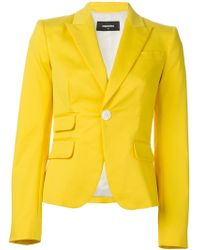 DSquared² Fitted Blazer - Lyst