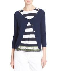 Tory Burch | 'rosemary' Cashmere Cardigan | Lyst