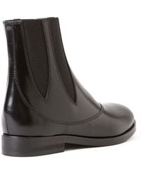 Alaïa | Decorative Leather Chelsea Boots | Lyst