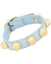 Balenciaga Arena Giant Stud Bracelet - Lyst