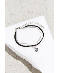 Urban Outfitters - Evil Eye Layered Bracelet - Lyst