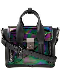 3.1 Phillip Lim Oil Slick Mini Pashli - Lyst