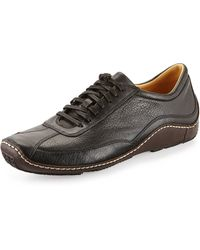 Cole Haan Ryder Leather Driver Sneaker - Lyst